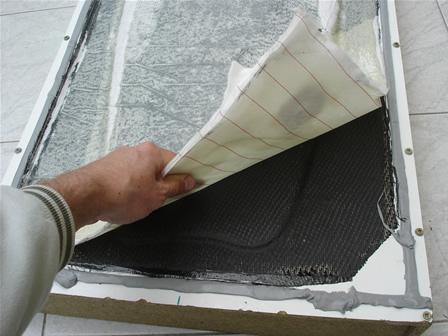 Réparation kayak plastique